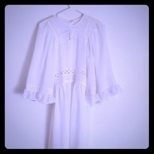 McQ by Alexander McQueen  White dress